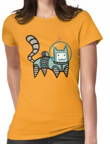 Astro Cat Womens Fitted T-Shirt