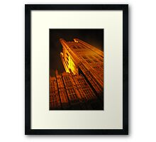 big ben london by night Framed Print