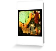 boule magnet Greeting Card