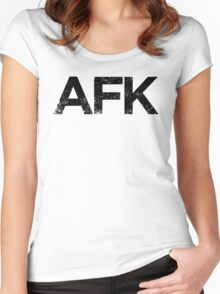 Away From Keyboard Women's Fitted Scoop T-Shirt