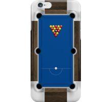 Mini Pool Table iPhone Case/Skin
