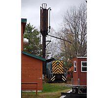 Railroad Yard, North Creek NY Photographic Print