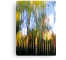 Trees by the Fence Canvas Print