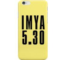 IMYA - Black iPhone Case/Skin