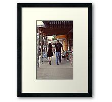Shane and Autumn Framed Print
