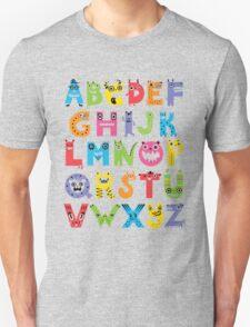 Alphabet Monsters T-Shirt