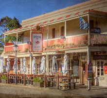 The Hahndorf Inn - Hahndorf, The Adelaide Hills, South Australia by Mark Richards
