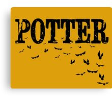 Potter Snitch Canvas Print