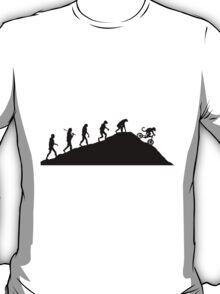evolution of mtb T-Shirt