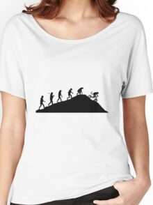 evolution of mtb Women's Relaxed Fit T-Shirt