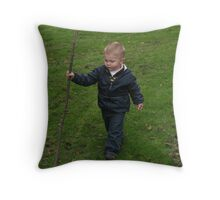 Little Adventurer Throw Pillow