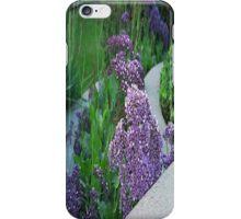 Purple Flower Landscaping... iPhone Case/Skin