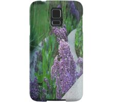Purple Flower Landscaping... Samsung Galaxy Case/Skin