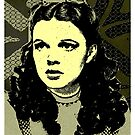 JUDY GARLAND-OUT OF OZ by OTIS PORRITT