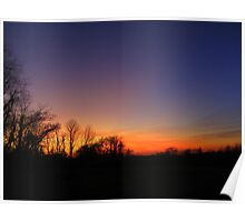 Uncle Norm's Sunset ~ R.I.P. Poster