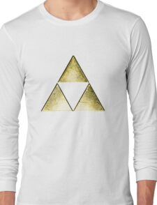 Force of three, golden version Long Sleeve T-Shirt