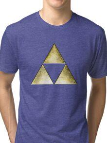 Force of three, golden version Tri-blend T-Shirt