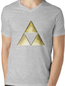Force of three, golden version Mens V-Neck T-Shirt