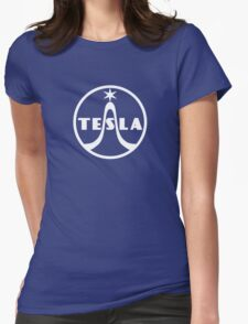 Tesla Radio Company Womens Fitted T-Shirt