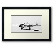 "B-25 ""Billy Mitchell"" attack bomber Framed Print"