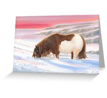 Shetland Winter Greeting Card