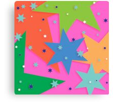 Starry and Colourful Canvas Print