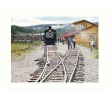 Cumbres-Toltec Narrow-Gauge Railroad,Colorado Art Print