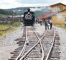 Cumbres-Toltec Narrow-Gauge Railroad,Colorado by lenspiro