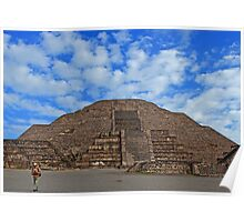 Teotihuacan, Mexico. Poster