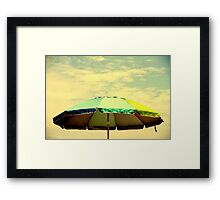 you shade up my life Framed Print