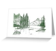 North on My Mind Greeting Card