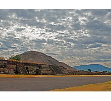 Teotihuacan, Mexico. Photographic Print