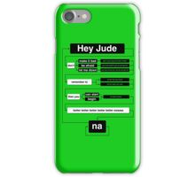 Hey Jude iPhone Case/Skin