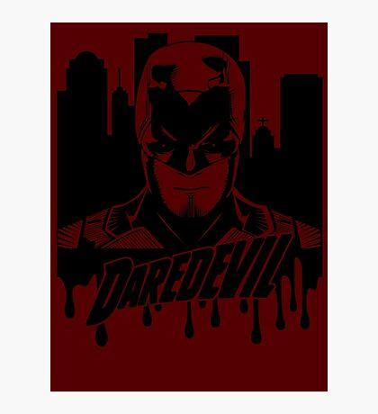 Daredevil : The devil in hell's kitchen Photographic Print