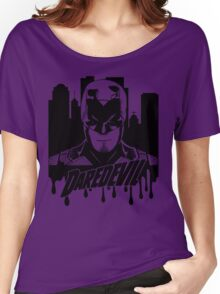 Daredevil : The devil in hell's kitchen Women's Relaxed Fit T-Shirt
