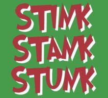 Stink Stank Stunk Kids Tee
