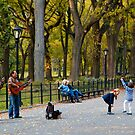Dancing in the Park by Rick Louie