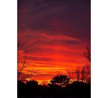 Nebulous Skies Photographic Print