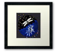 Dragonfly & Seadragon Framed Print