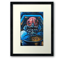 With Teeth! Framed Print