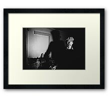 The Interview.......R.I.P Mike Framed Print