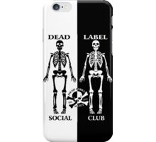 The Social Club iPhone iPhone Case/Skin
