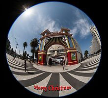 Luna Park Melbourne by Pauline Tims