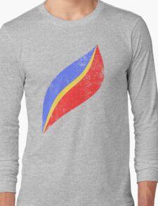 Cap EO Distressed Long Sleeve T-Shirt