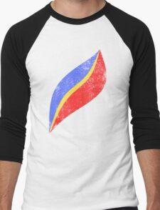 Cap EO Distressed Men's Baseball ¾ T-Shirt