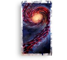Galaxy Touch Canvas Print