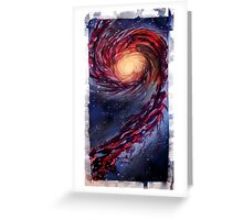 Galaxy Touch Greeting Card