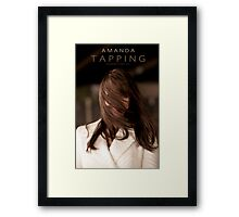 Amanda Tapping - HAIR Framed Print
