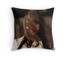 Amanda Tapping - HAIR Throw Pillow