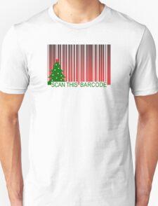 MERRY XMAS BARCODE T-Shirt